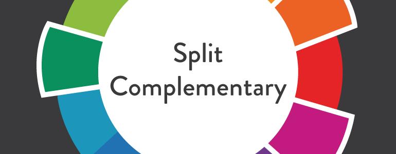 Split-complimentary colour
