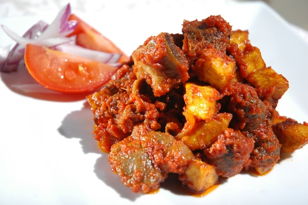 Gizzard and plantain